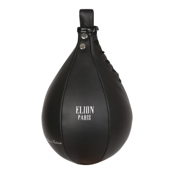 Poire de vitesse ELION Collection Paris Cuir - Noir