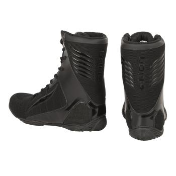 Chaussures de Boxe ELION Rapide Noir/Noir