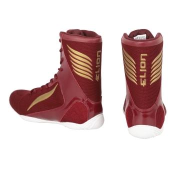 Chaussures de Boxe ELION Rapide Bordeaux