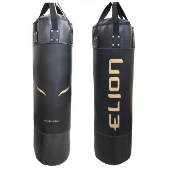 Sac de frappe ELION Skintex - 1m60 - 55 ± Kg Noir Mat/Or