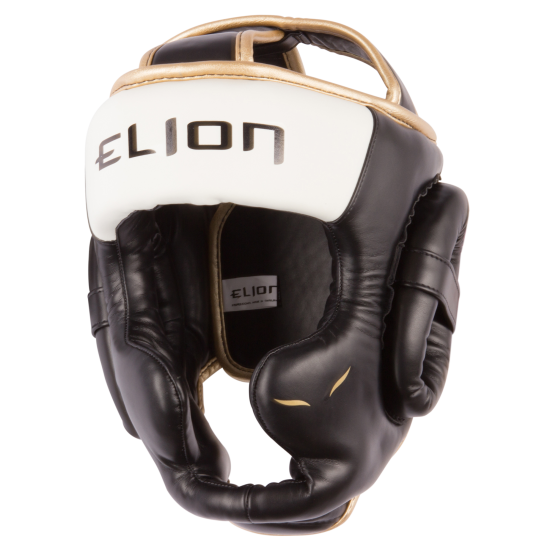 Casque de boxe ELION Audace - Black and White