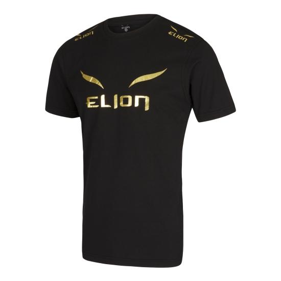 T-Shirt ELION Ring Walk Noir/Or