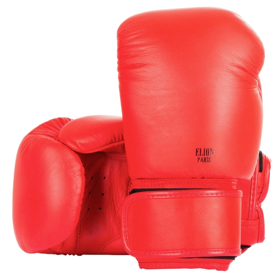 Gants de boxe ELION Collection Paris - Rouge  Mat